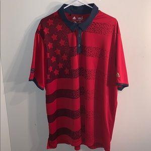 Men's Adidas USA Golf Polo